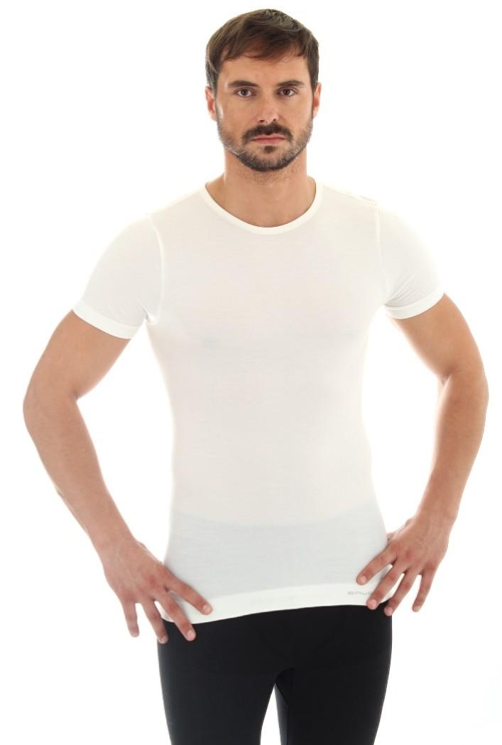 Brubeck/® SS11030 Comfort Wool Herren Kurzarmshirt Anti-allergisch Funktionsunterw/äsche Weich Antibakteriell